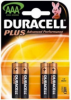 DURACELL PILE LR03 AAA PLUS B4